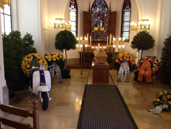 Contemporary Funeral Service